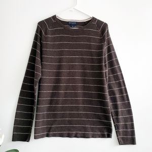Banana Republic Brown Striped Sweater